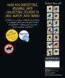 Eyelike Sticker Book: Horses w/400 Reusable Stickers