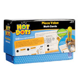 Hot Dots Place Values Math Education Flashcards Kit - Grade 1+