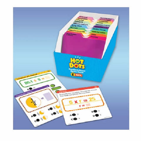 Hot Dots Standards Based Math Kit - Grade 5