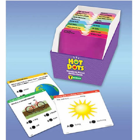 Hot Dots Science Standards Based Kit - Grade 1