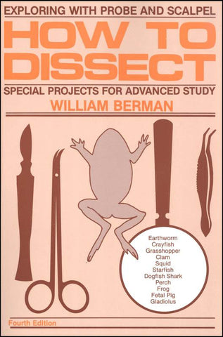 """How to Dissect"" Book Dissecting Instructions - Online Science Mall"