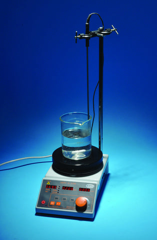 Digital Hot Plate Magnetic Stirrer Set - Includes 4 Hotplate Accessories
