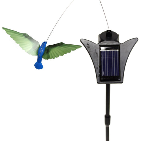 Solar Powered Hummingbird - Dancing Garden Ornament