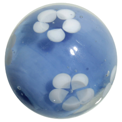 "22mm Handmade Art Glass ""Hydrangea"" Marble w Stand"