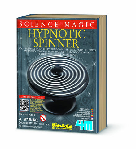 4M Science Magic - Hypnotic Spinner Optical Illusions