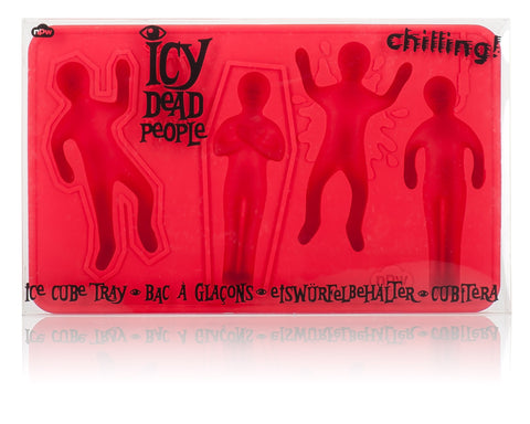 Icy Dead People Ice Cube Tray and Silicone Mold