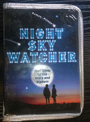 Night Sky Watcher Book, Your Guide to the Stars & Planets w Bookcover