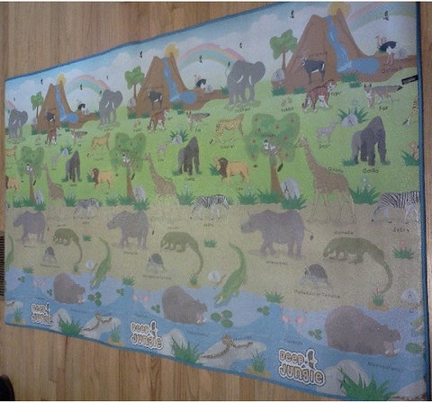 PlaSmart Jungle Trek Play Mat