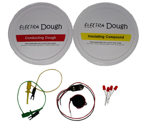 Electra Dough Electric Circuit Building Kit - Individual Sized Kit