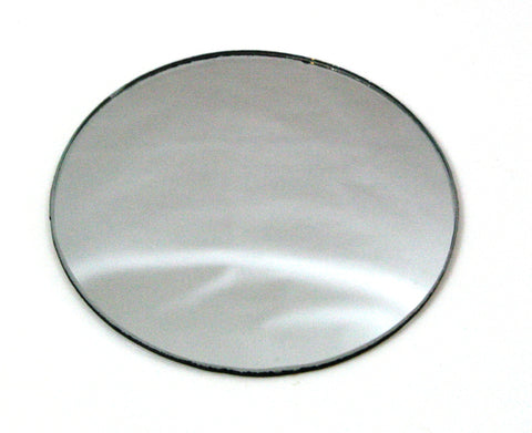 75mm Round Double-Sided Convex & Concave Glass Mirror