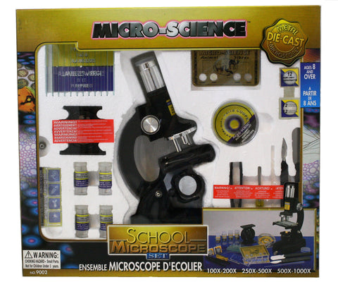 65pc School Microscope Set by Phil Seltzer