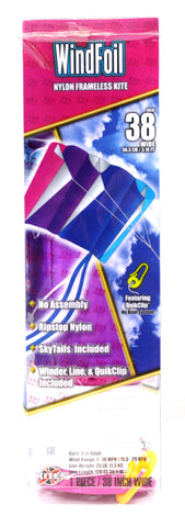 "38"" Windfoil Frameless Ripstop Nylon Kite by X-Kites - Cool Breeze"