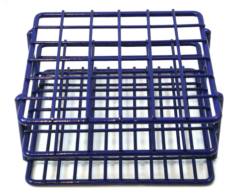 36 Place Wire Test Tube Rack - Epoxy Coated