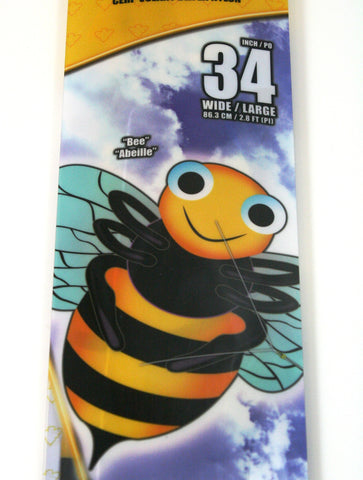 34 Inch X-Kites SkyBugz Bumble Bee Kite w/Handle & Line
