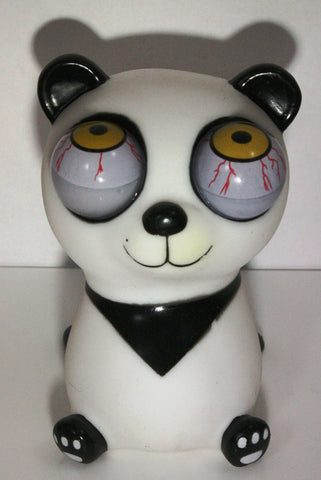 Pop-Eyes Squeeze Me Smiling Panda Toy