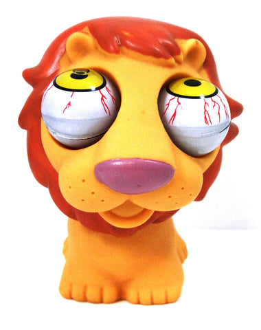 Pop-Eyes Squeeze Me Smiling Lion Toy