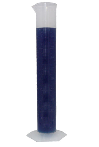 1000mL Polypropylene Measuring Cylinder w/Hexagonal Base - 1 Liter Plastic Graduated Cylinder - Online Science Mall
