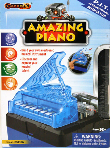 Connex D.I.Y. Amazing Piano Electronics Experiment Kit, by Tedco