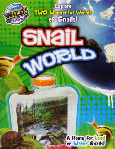 Wild Science Snail World, by Tedco