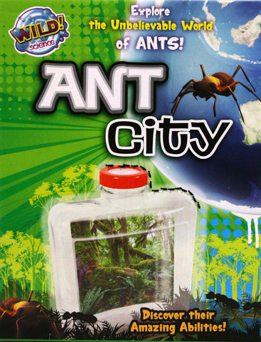 Wild Science Ant City, by Tedco