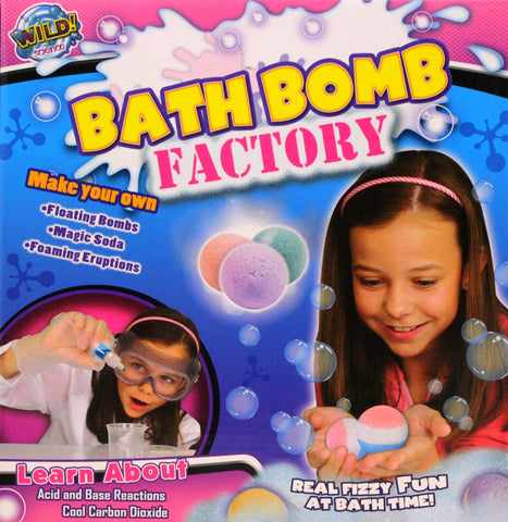 Wild Science Bath Bomb Factory - Customize Your Own Bath Time Scents