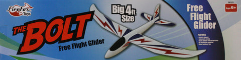 "The Bolt Glider Plane w/48"" Wingspan by FireFox"