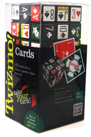 The Twizmo Cards Strategy Cube Card Game