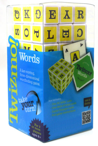 The Twizmo Words Strategy Cube Card Game