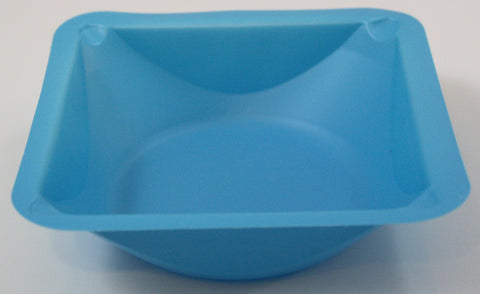 Small Blue Polystyrene Weigh Boats Sleeve of 500 Weigh Dishes