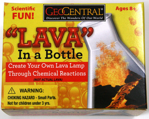 Lava In A Bottle - Lava Lamp Experiment Kit