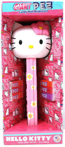 Giant Hello Kitty Pez Dispenser w/Sounds & PEZ Candy