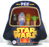 Star Wars Limited Edition Pez Dispenser Set of 4 w/Metal Tin & PEZ Candy