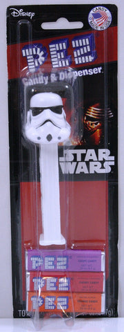 Star Wars Storm Trooper Pez Dispenser w/PEZ Candy