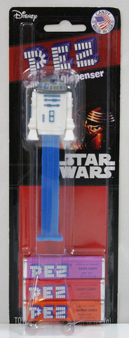 Star Wars R2D2 Pez Dispenser w/PEZ Candy