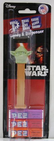 Star Wars Yoda Pez Dispenser w/PEZ Candy