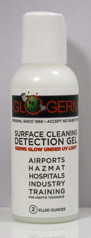Glo Germ Simulated Germs Surface Cleaning Detection Gel
