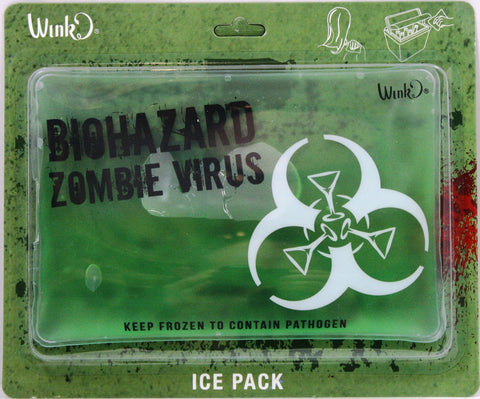 Zombie Virus Biohazard Ice Pack