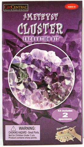 Amethyst Cluster Excavation Kit (2014 Version)