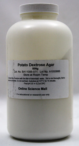 500g of Dehydrated Potato Dextrose Agar Powder