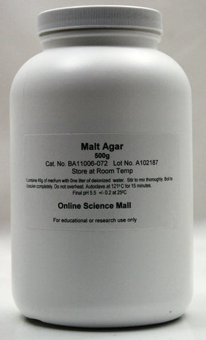 500g of Dehydrated Malt Extract Agar Powder