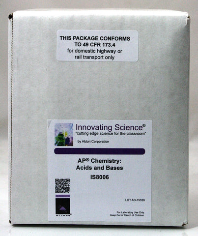 Acids and Bases AP Chemistry Classroom Kit