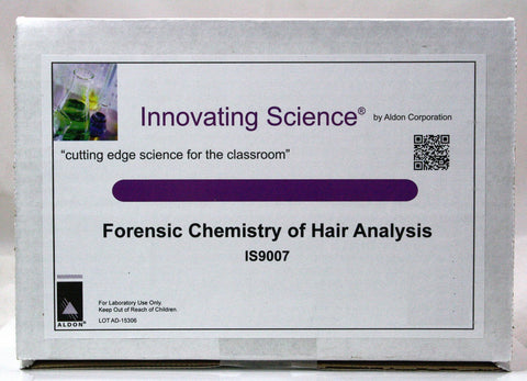 Forensic Chemistry of Hair Analysis Classroom Kit