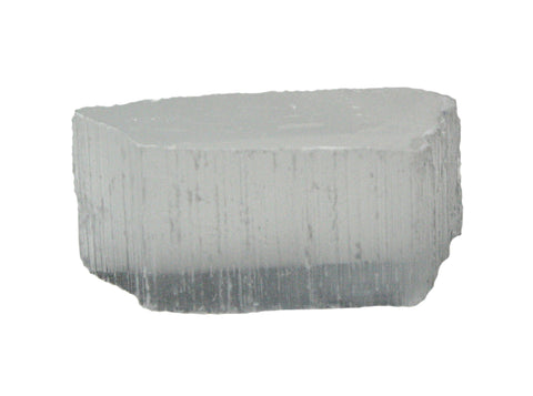 TV Stone Satin Spar Selenite Mineral Crystal Rock