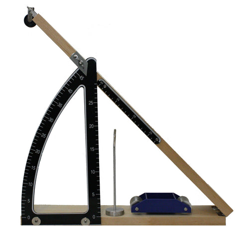 Inclined Plane Set Demonstrates Force Motion Energy