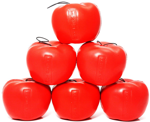 Pack of 6 Foam Newton's Apples - 1 Newton Per Apple