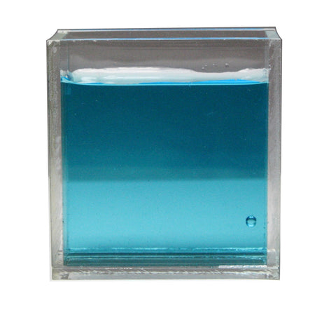 Acrylic Rectangular Refraction Cell - Measuring Refractive Index