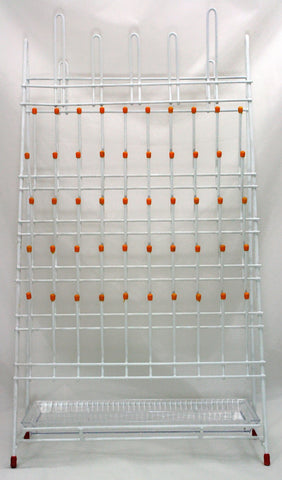 55 Place Steel Wire Upright Drying & Draining Rack