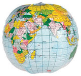 Inflatable World Globe 12 inches