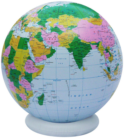 36 Inch Inflatable Political Globe with Base