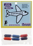 "Magic Capsules Toy ""Instant Aviation"" Foam Figures"